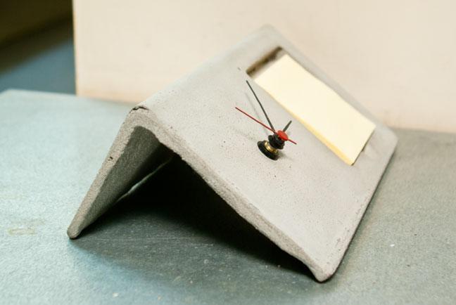 Bent Clock Shapecrete
