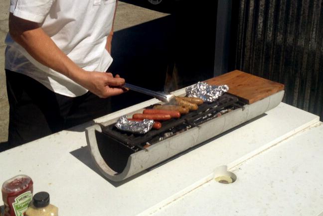 Outdoor Tabletop Hibachi